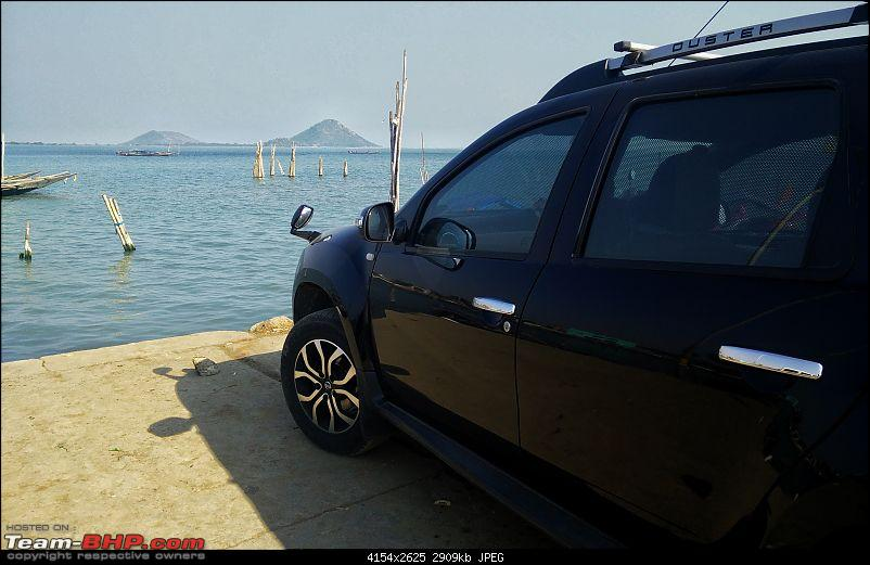 The South East Expedition - Solo Drive in a Duster from Bangalore –> Kolkata-chilika1.jpg