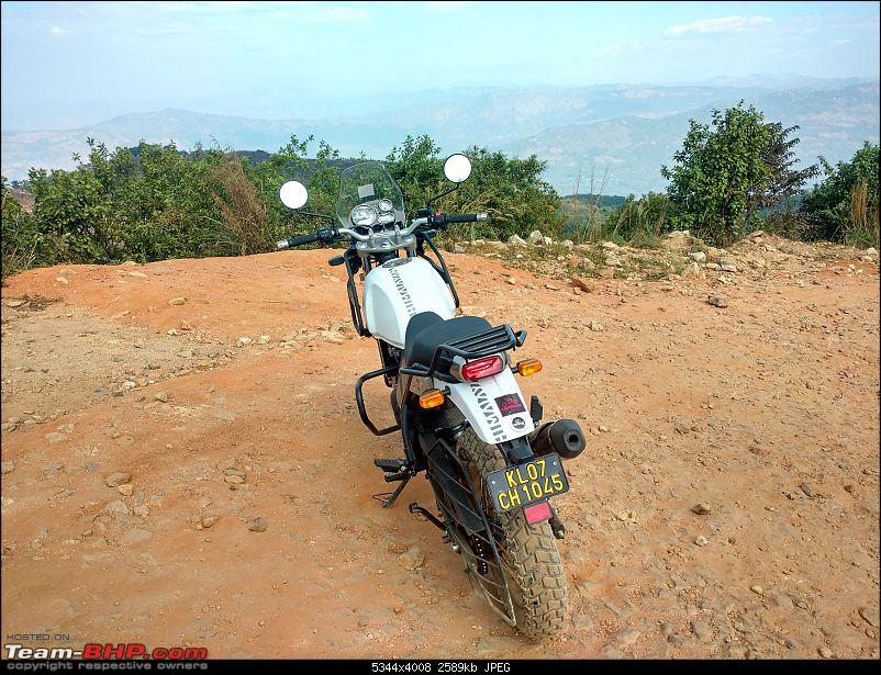 Rented an RE Himalayan from Caferides; rode to Ilaveezha Poonchira-summit4.jpg