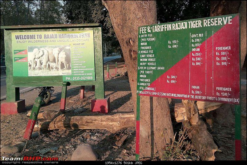 Hawk-On-Fours® (H-4®) Roadtrip: Rajaji National Park, Chilla | A short vacation & an angry elephant-signboard.jpg