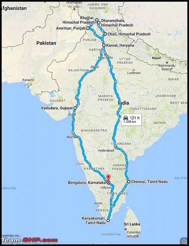 8597 Kms Drive - Exploring Himachal! Amritsar – Khajjiar – Dalhousie – Dharamshala – Manali - Chail-map.jpg