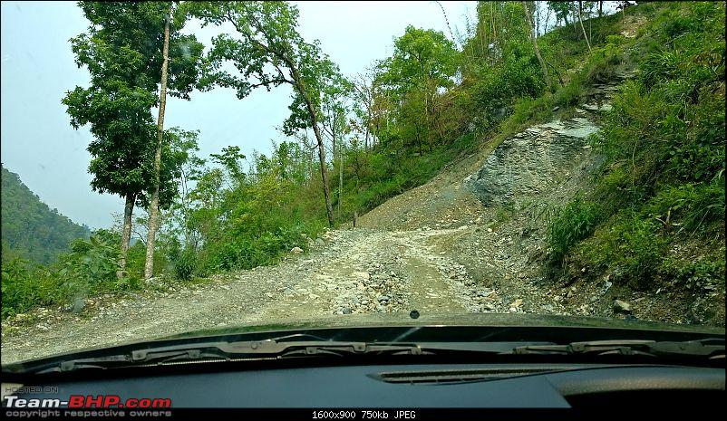 Duster AWD Twins drive to Sikkim-reshi-approach.jpg