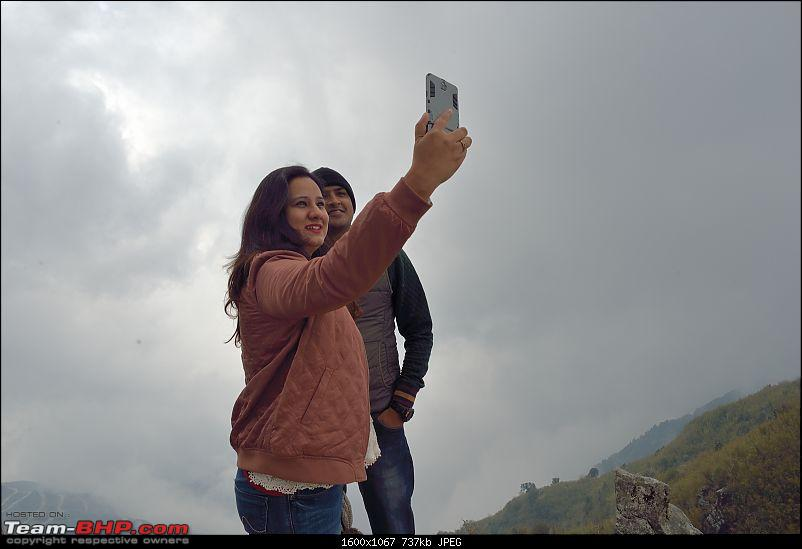 Duster AWD Twins drive to Sikkim-meg-selfie.jpg