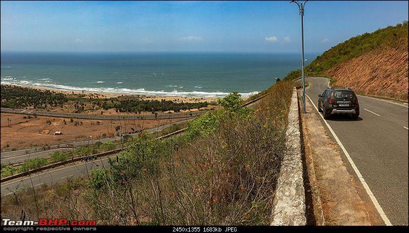 Hyderabad to Araku Valley : Celebrating a year with the Duster AWD-1-rajamouli-road.jpg