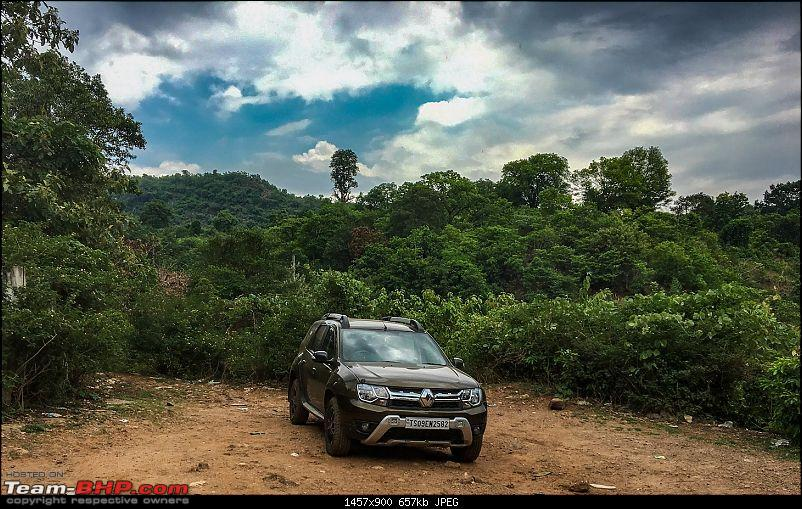 Hyderabad to Araku Valley : Celebrating a year with the Duster AWD-2-ketaki-parking-duster-.jpg