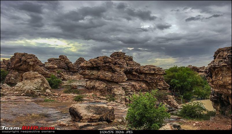 Hyderabad - Gandikota - Belum Caves in a Duster AWD-rock-garden-1.jpg