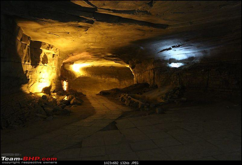 Hyderabad - Gandikota - Belum Caves in a Duster AWD-cave1.jpg