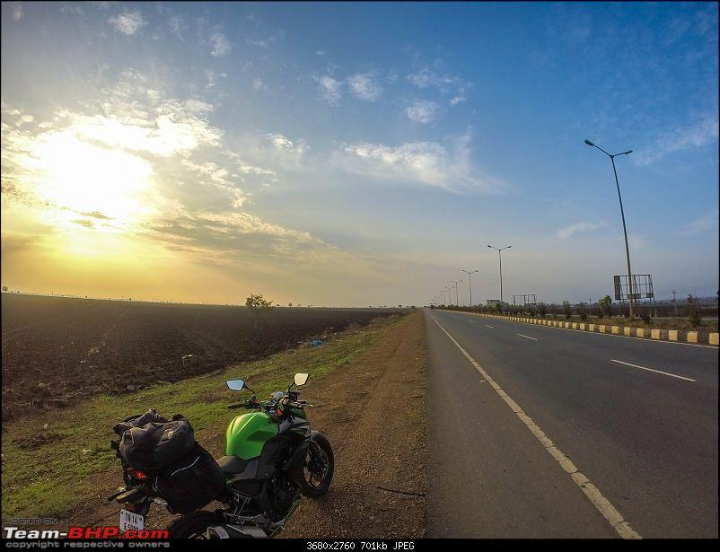 Chennai - Goa on a Kawasaki Z250-gopro-morning-side-view-3.jpg