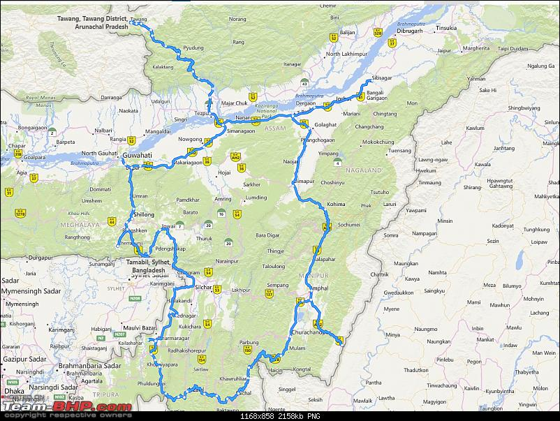 Exploring the magnificent 7 States of North-East India on motorcycles-full-route-1-1.png