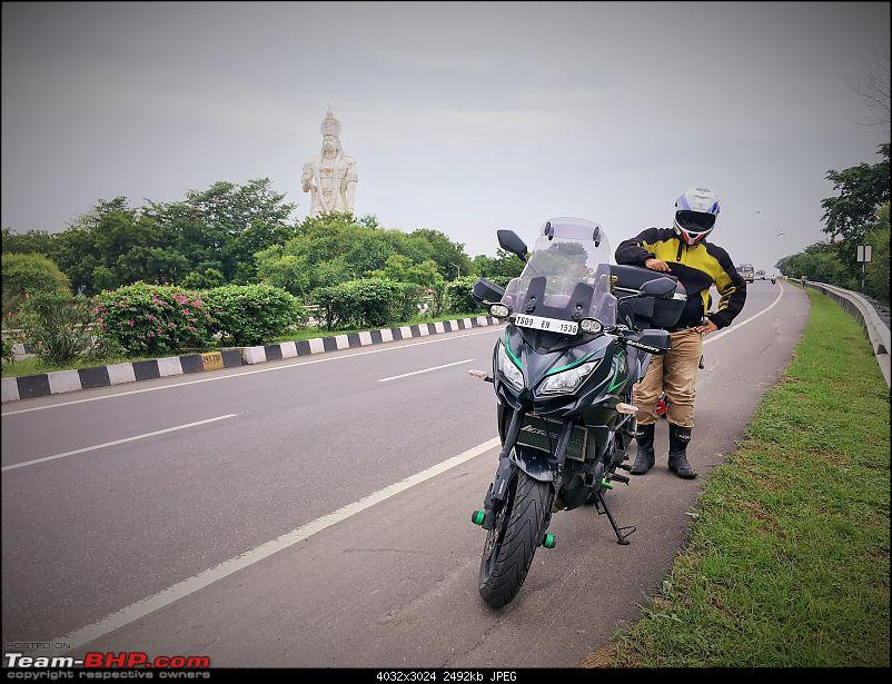 Kawasakis & Triumphs ride to Vizag & Araku Valley - Photoblog of an 1800 km ride-hanuman-idol-pose.jpg