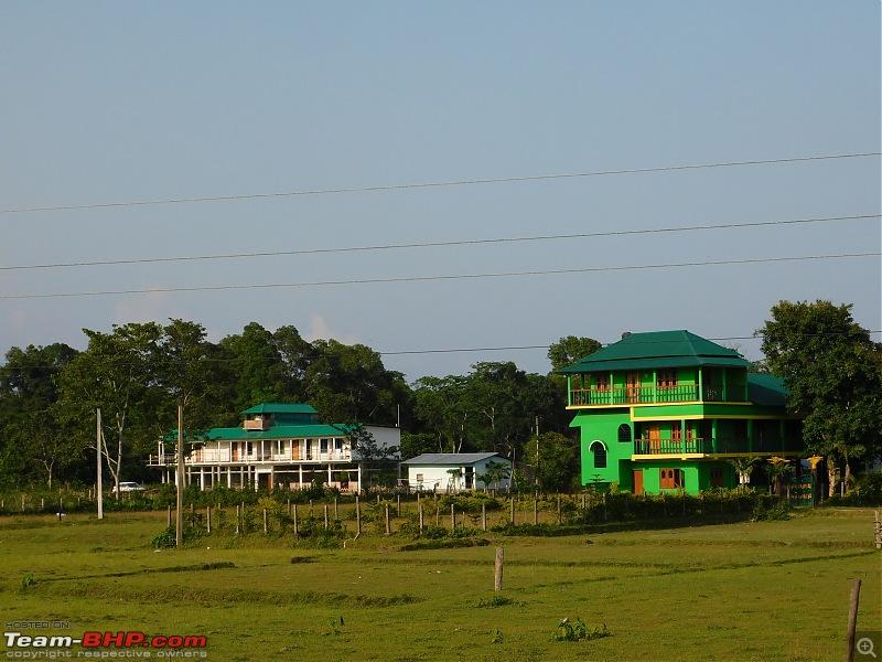 Tuskers of Chilapata : A thrilling drive to Northern Bengal & Bhutan-dscn0183housesroadtobuxa.jpg