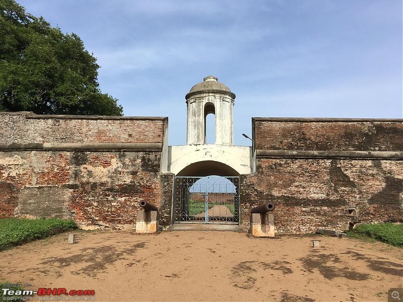 Ride to the 17th century Sadras Dutch Fort at Kalpakkam-entrance.jpg