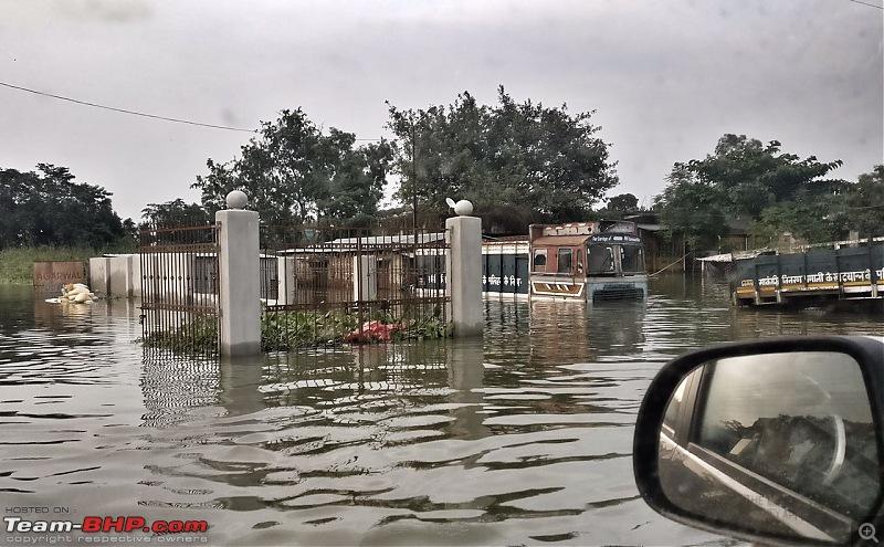 Thar & Duster AWD Twins drive to Sikkim-flood.jpeg