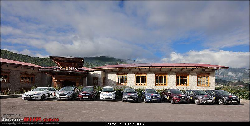 In the land of the thunder dragon - Driving Hondas from West Bengal to Bhutan!-meridien-parking.jpg