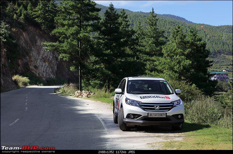 In the land of the thunder dragon - Driving Hondas from West Bengal to Bhutan!-road.jpg