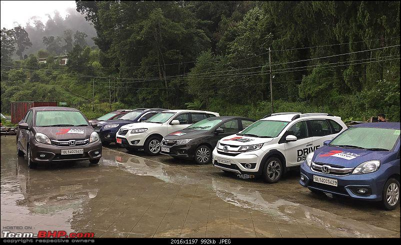 In the land of the thunder dragon - Driving Hondas from West Bengal to Bhutan!-parking-gedu.jpg