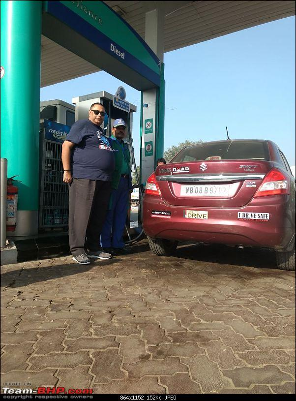 Kolkata -> Varanasi -> Delhi in my Dzire AMT-reliance-petrol-pump-2.jpg