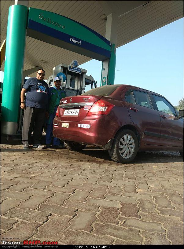 Kolkata -> Varanasi -> Delhi in my Dzire AMT-reliance-petrol-pump.jpg