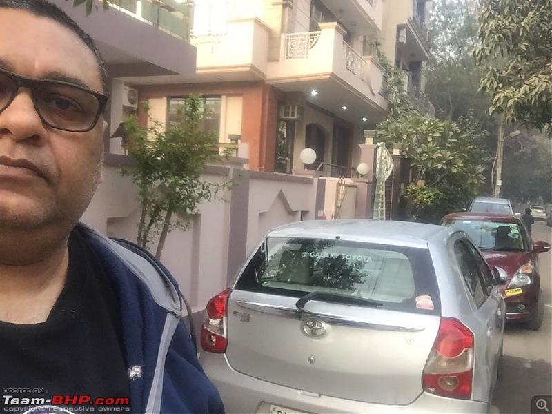 Kolkata -> Varanasi -> Delhi in my Dzire AMT-front-taruns-house-3.jpg