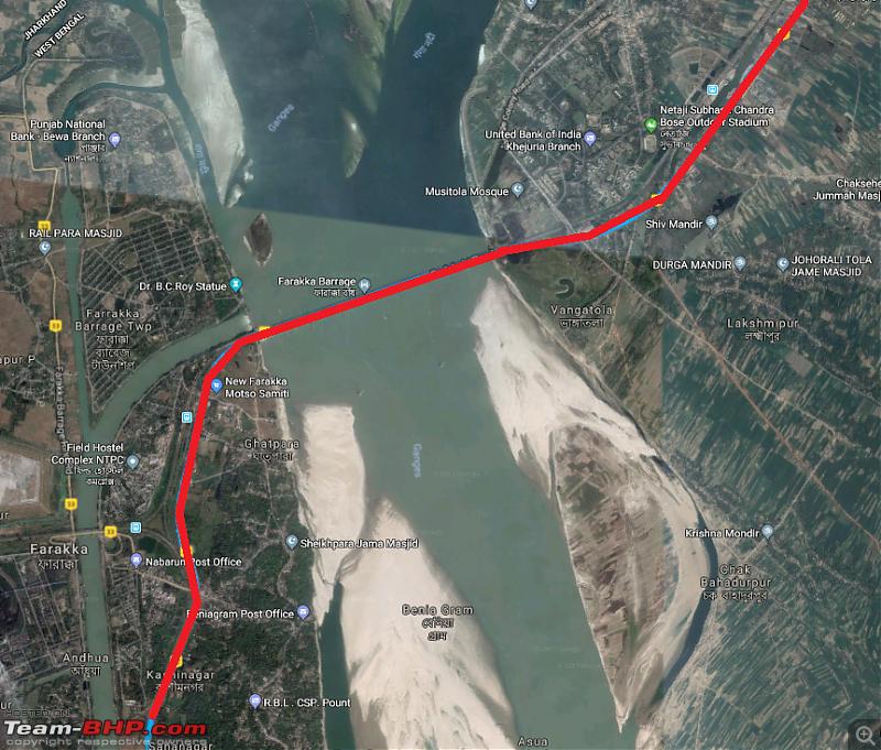 Hyderabad to Arunachal, Assam & Meghalaya in a Duster AWD-farakka.png