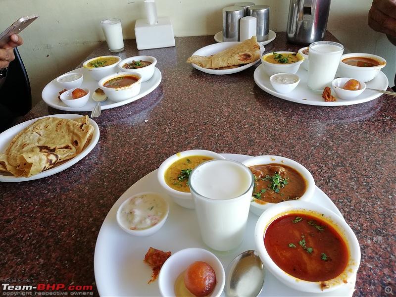Saddlesore ride: Bengaluru - Shirwal (near Pune) - Bengaluru-lunch.jpg
