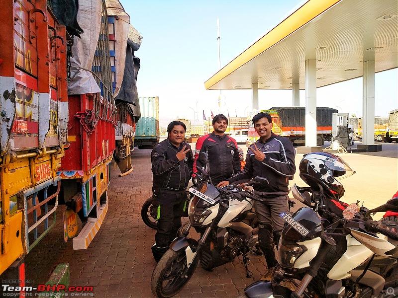 Saddlesore ride: Bengaluru - Shirwal (near Pune) - Bengaluru-shirwal1.jpg