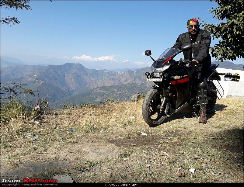 Honeymoon Ride: Kolkata to Lava on a CBR250R-riderrenkanchanjangha.jpg