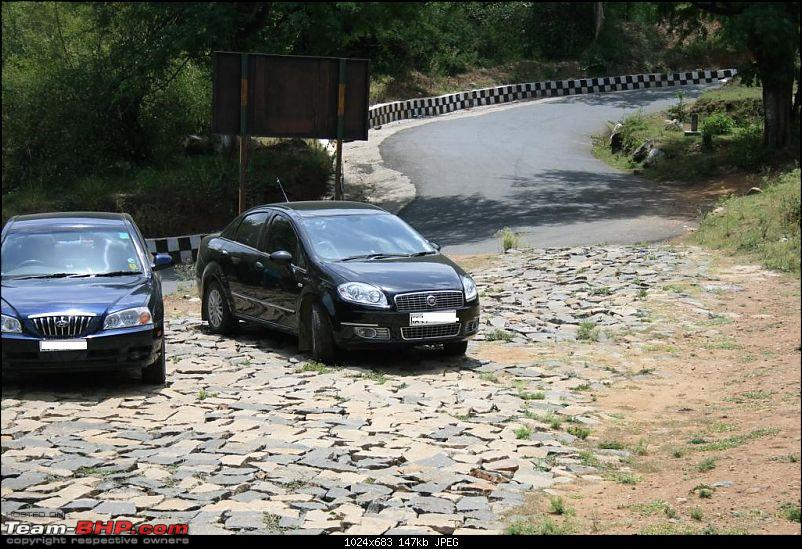 Ooty - my first on MY LINEA, probably the first LINEA TO CLIMB famous 36 hairpin bent-point-1.jpg