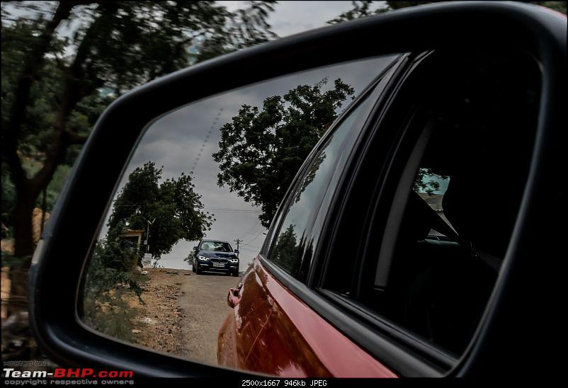 I shot two Bimmers with stones! With two BMWs to Vijayanagara-21-narrow-roads.jpg