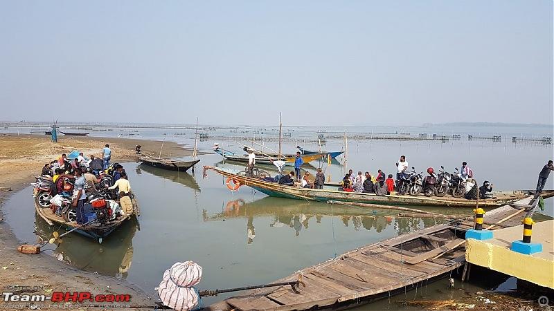 Mahindra Marazzo: Road-trip to Bhubaneswar, Gopalpur, Chilika & Puri-tbhp-chilka21-bikes-boat.jpg