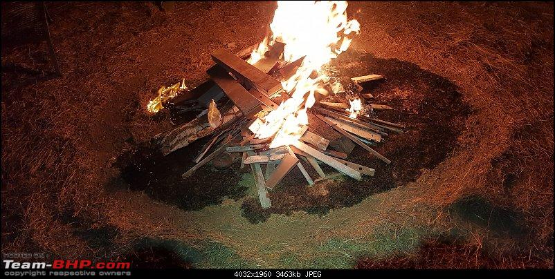Weekend camping at Salter Lake - Near Amby Valley, Lonavla-plywood-fire-fire-circle.jpg