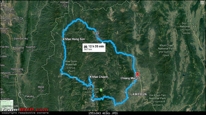 Riding through the famous 1864 Loops of Mae Hong Son, Thailand-map.jpg