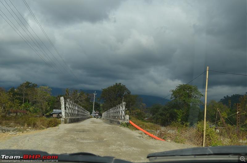 An enchanting drive from West to North East India - Pune to Arunachal, Assam & Meghalaya-narrowbridg2.jpg