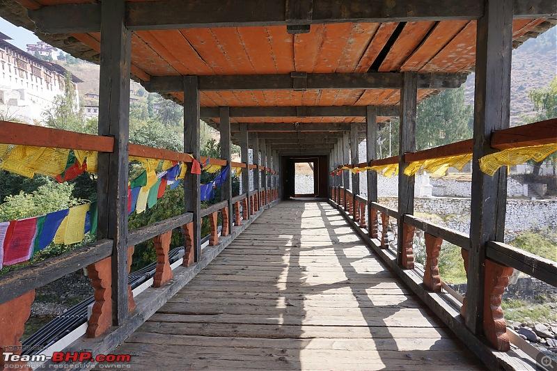 HexLogs - Drive from Bangalore to Bhutan in a Tata Hexa-parodzongbridge1.jpg