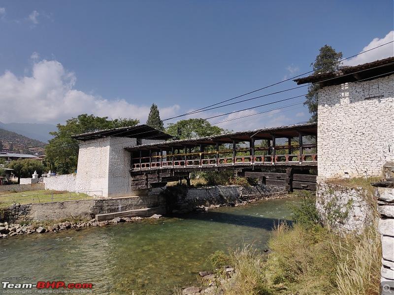 HexLogs - Drive from Bangalore to Bhutan in a Tata Hexa-parodzongbridge02.jpg