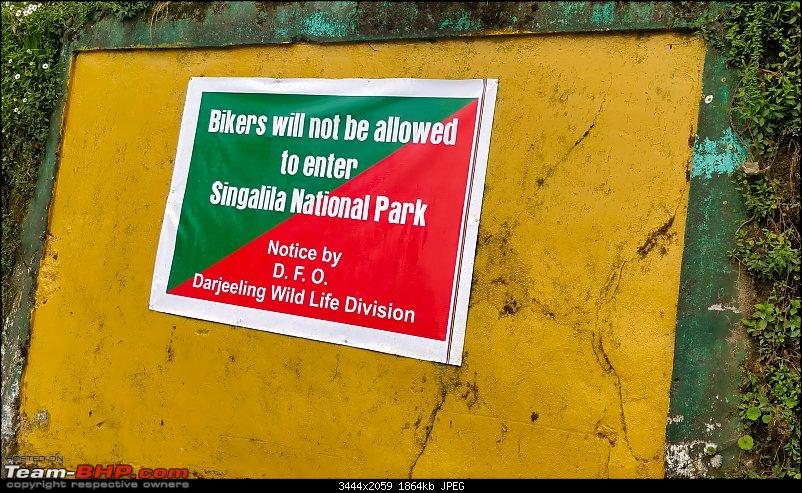 Sandakphu: The highest peak of Bengal in a Duster AWD-bikers-not-allowed.jpg