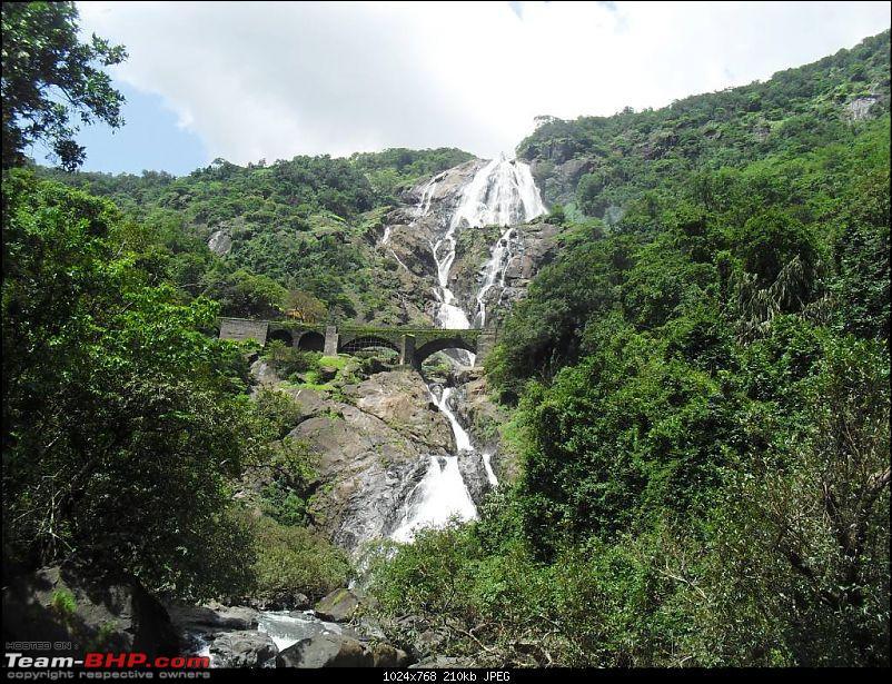 Dudhsagar: Riding through hellish roads to see heavenly beauty-falls1.jpg