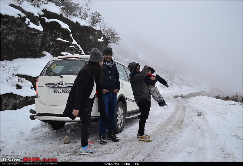 Baby Ishaan's Winter Drive to Frozen Sikkim in an XUV500 W10 AWD-41.jpg