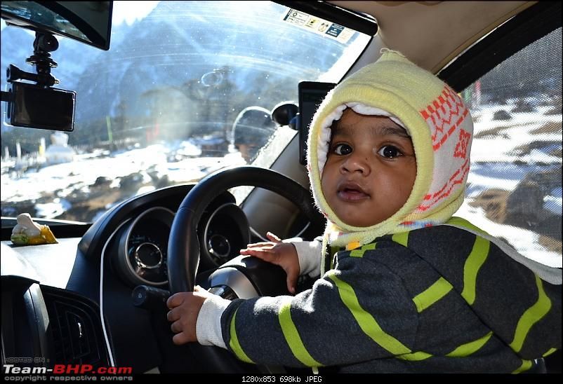 Baby Ishaan's Winter Drive to Frozen Sikkim in an XUV500 W10 AWD-19.jpg