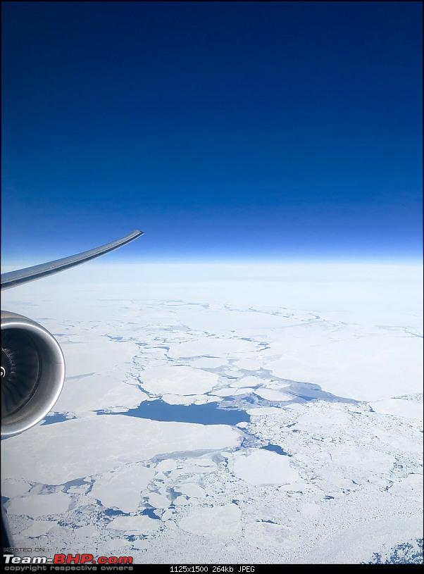 Around the world - Using my credit card points for flights!-69northpole.jpg