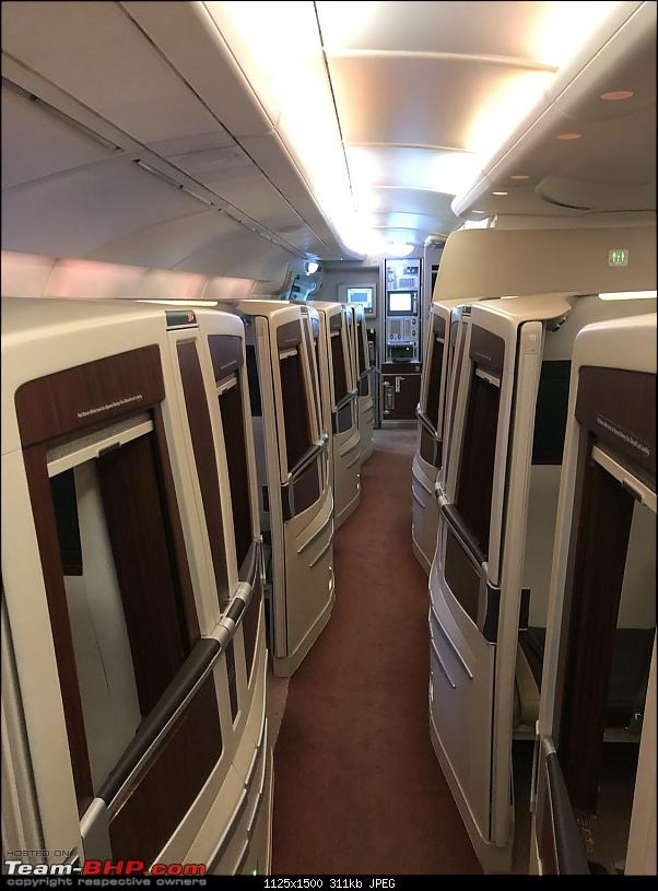 Around the world - Using my credit card points for flights!-145cabin.jpg
