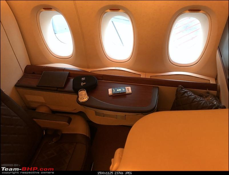 Around the world - Using my credit card points for flights!-146seat.jpg