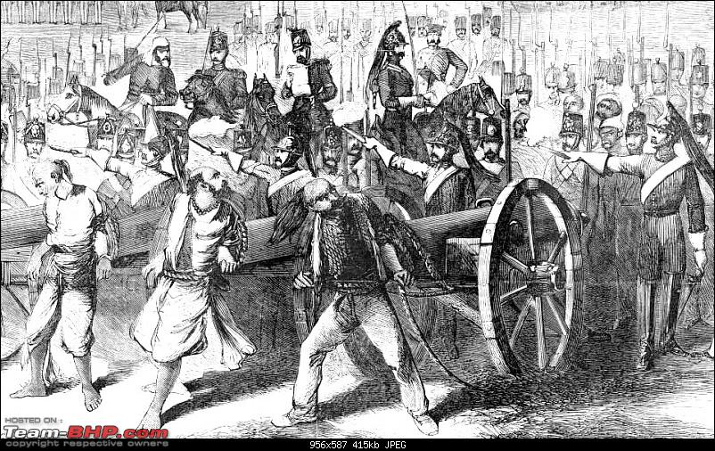 Varsai to Kashi on foot : 1857-59-execution_by_cannon_b.jpg
