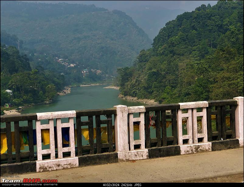 Autumn Drive in an Innova Crysta to Dooars, Kolakham, Kalimpong & Darjeeling-14.-crossing-river-bridge.jpg
