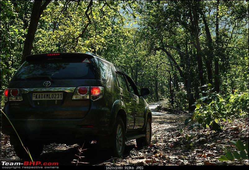 Diwali drive in a Toyota Fortuner - Bangalore to Delhi!-pachmarhi-fortuner.jpg