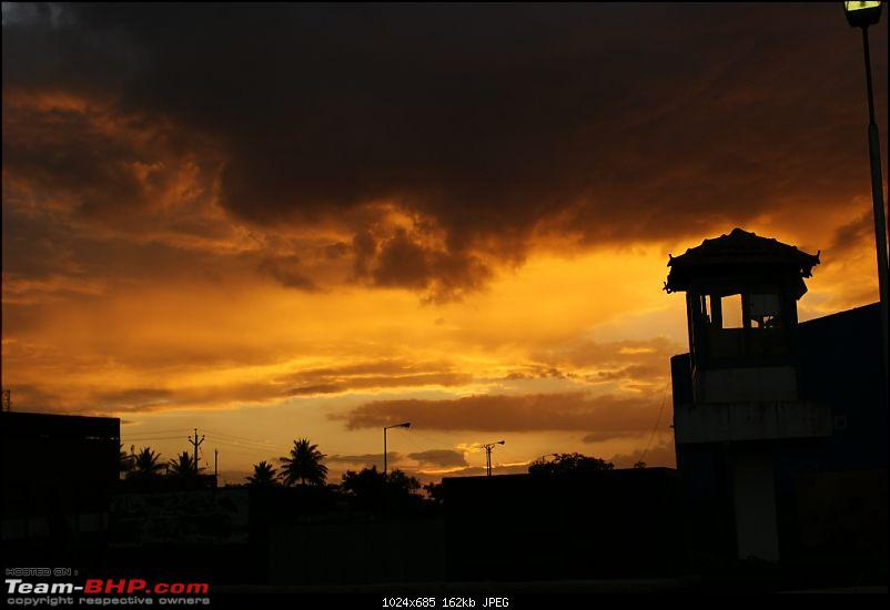 An incredible road trip to Velankanni, Kodaikanal and Ooty-awesome-sunset-hosur.jpg