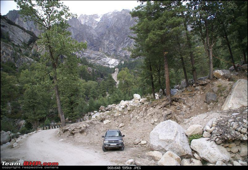The Himachal Tribal Circuit - 2009-06-cra-parking.jpg