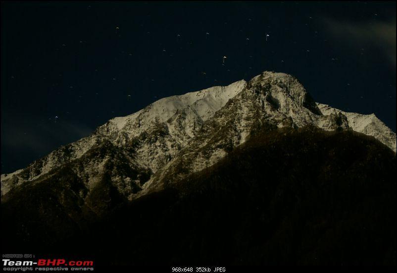 The Himachal Tribal Circuit - 2009-09-night-hill.jpg