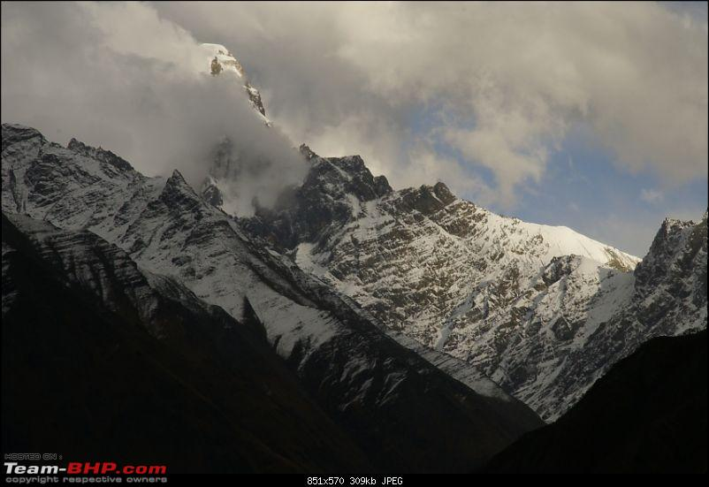 The Himachal Tribal Circuit - 2009-28-shy-peak-sun.jpg