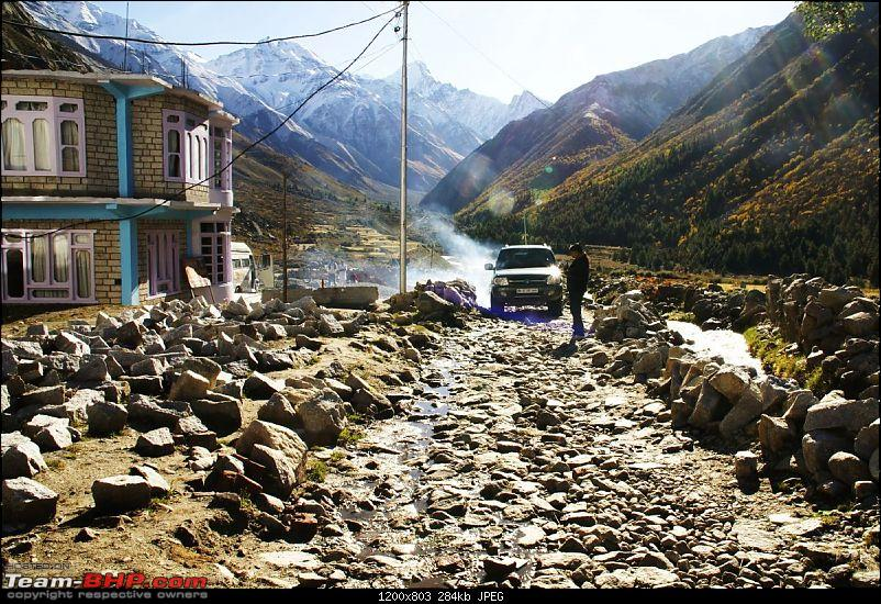 The Himachal Tribal Circuit - 2009-01-leave-hotel.jpg