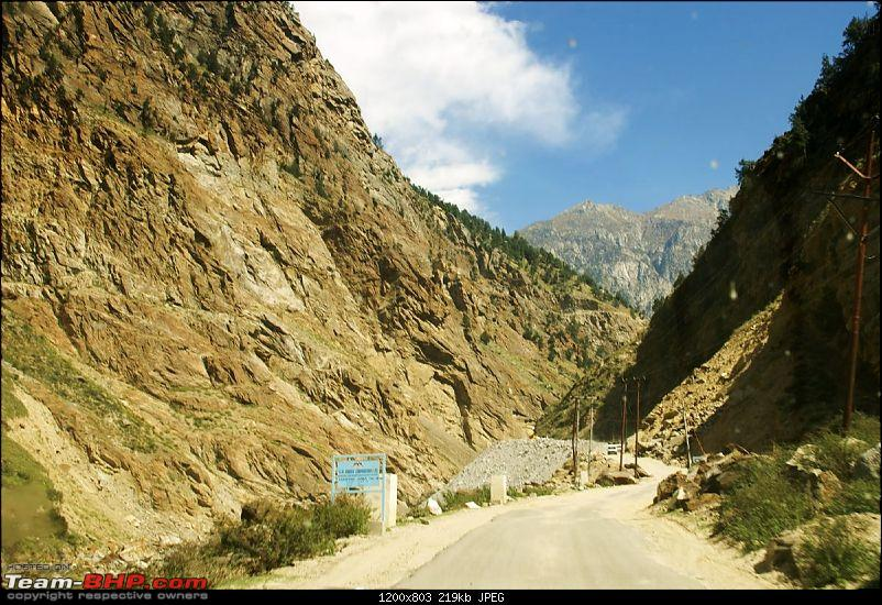 The Himachal Tribal Circuit - 2009-15-towards-reckong-peo.jpg